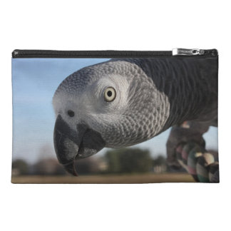 Curious Congo African Grey Parrot Travel Accessory Bag