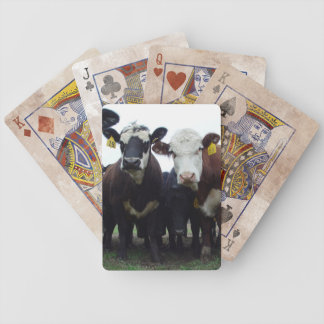 """""""Curious Cow"""" Playing Cards"""