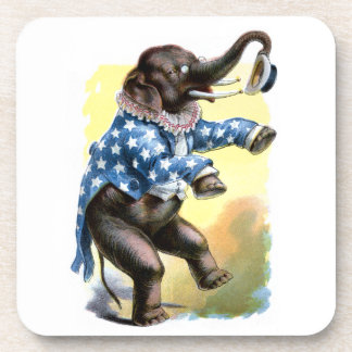 Curious Creatures - Elephant Drink Coaster