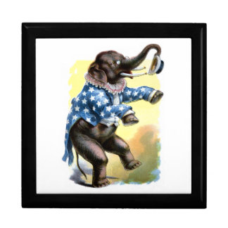 Curious Creatures - Elephant Keepsake Box