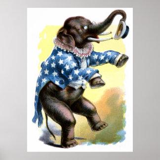 Curious Creatures - Elephant Print
