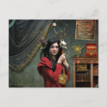 Curious Curator Postcard