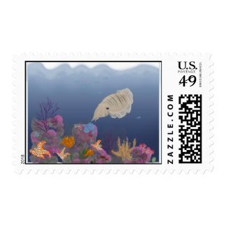 Curious Cuttlefish Postage