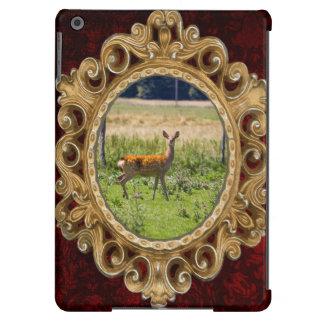 Curious Doe In A Grass Meadow, Animal Photo iPad Air Case