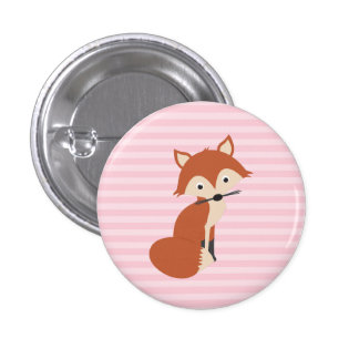 Curious Fox Pins