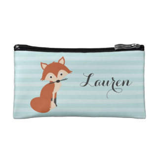 Curious Fox Cosmetic Bags