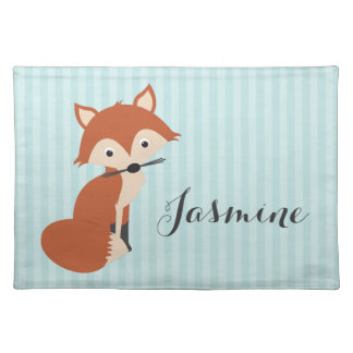 Curious Fox Placemat