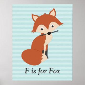 Curious Fox Print