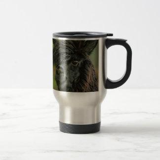 Curious Friendly Suri Alpaca - Vicugna pacos Travel Mug
