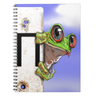 Curious Frog Notebook
