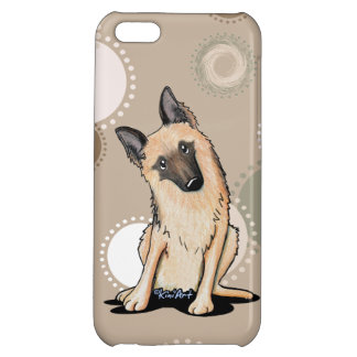 Curious German Shepherd iPhone 5C Covers