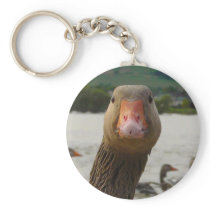 Curious Goose Keychain