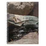 Curious Iguana; 2012 Calendar Note Book