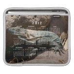 Curious Iguana; 2012 Calendar Sleeve For iPads