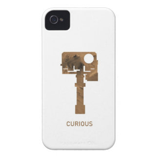 Curious iPhone - white iPhone 4 Case