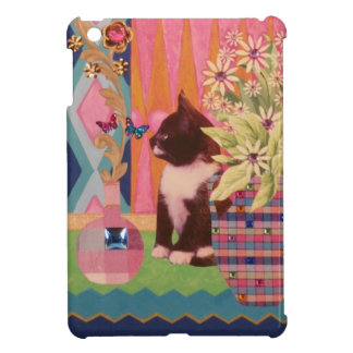 Curious Kitten Mini iPad Case