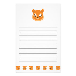 Curious Kitten Stationery