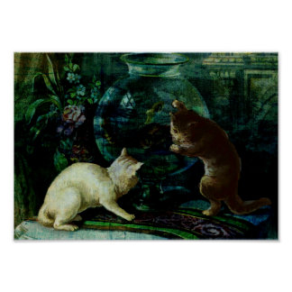 Curious Kittens Poster