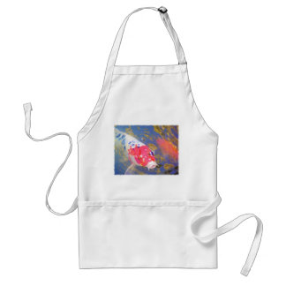 Curious Koi Adult Apron