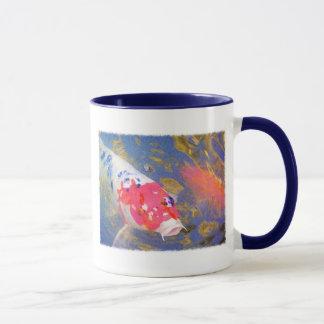 Curious Koi Mug
