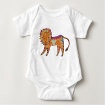 Curious Lion Baby Bodysuit
