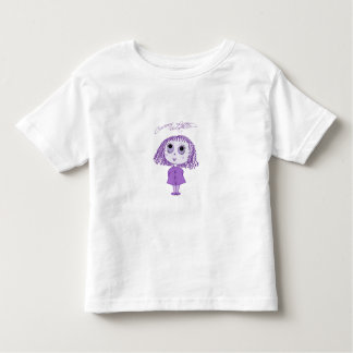 Curious Little Violet Toddler T-shirt