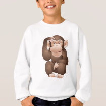 Curious Monkey Sweatshirt