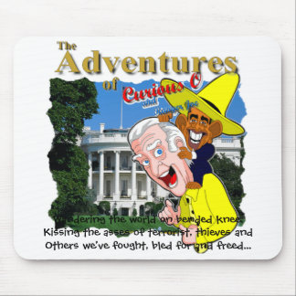 Curious O and Ranger Joe Mouse Pad