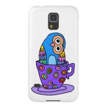 Curious Owl in a Teacup Galaxy S5 Case