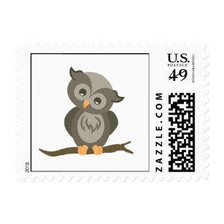 Curious Owl Postage