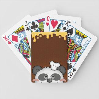 Curious Panda Bicycle® Playing Cards
