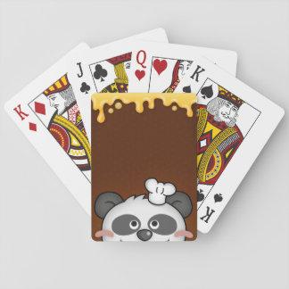 Curious Panda Playing Cards