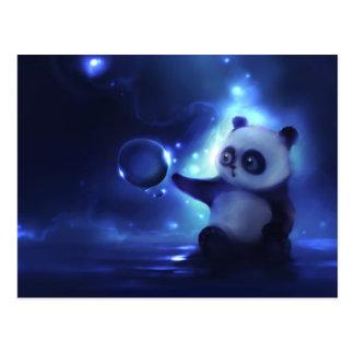 Curious Panda Postcard