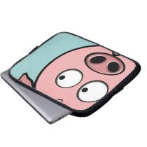 Curious Pig Computer Sleeve