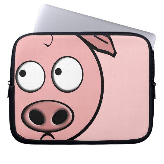 Curious Pig Laptop Sleeve