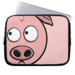 Curious Pig Laptop Sleeves