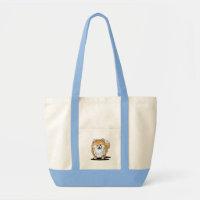 Curious Pomeranian bag