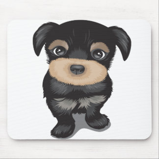 Curious Pup Mouse Pad