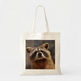 Curious Raccoon Tote Bag