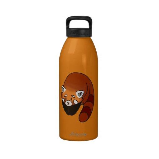 Curious Red Panda Drinking Bottles