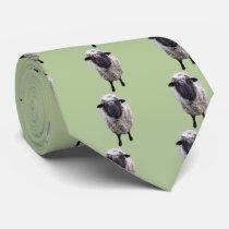 Curious Sheep Neck Tie