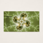 Curious Tentacles - Fractal Art Business Card