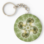 Curious Tentacles - Fractal Art Keychain