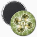 Curious Tentacles - Fractal Art Magnet