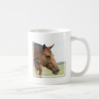 Curious Thoroughbred Coffee Mug