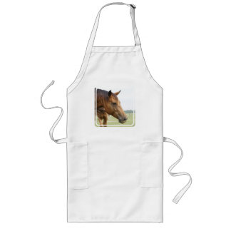 Curious Thoroughbred Long Apron