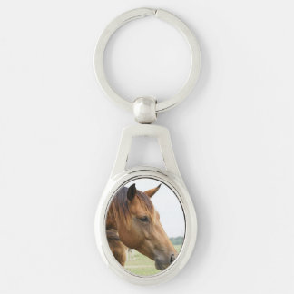 Curious Thoroughbred Keychains