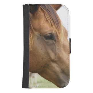 Curious Thoroughbred Phone Wallet Cases