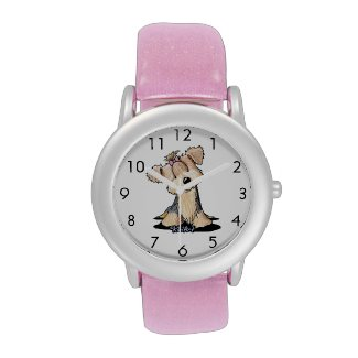 Curious Yorkie Cutie Wrist Watch