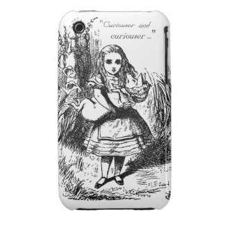 Curiouser and Curiouser iPhone 3 Case-Mate Case